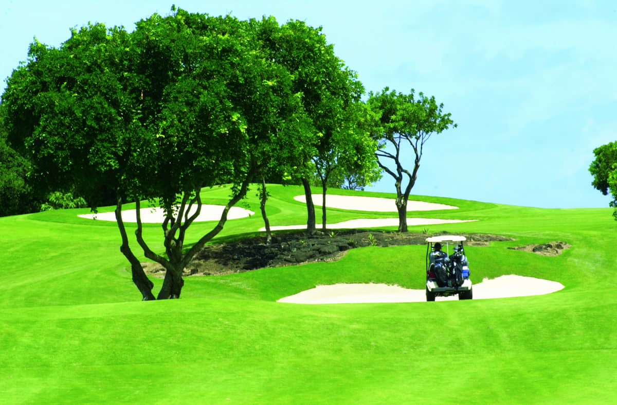 Links course at Constance Belle Mare Plage, Mauritius