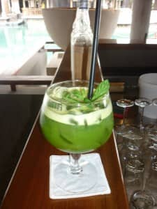 Basil Blush fresh juice, Constance Le Prince Maurice