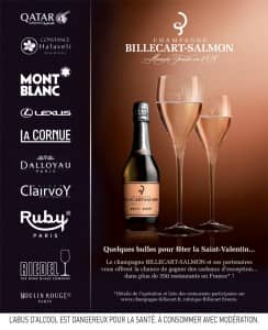 Billecart-Salmon Champagne competition