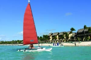 Watersports at Constance Belle Mare Plage, Mauritius