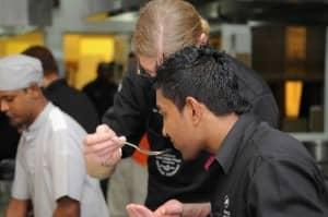 Bernard Loiseau Culinary Festival 2012, behind the scenes