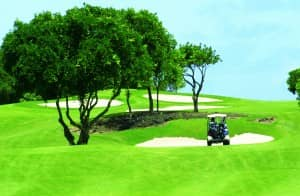 Links golf course, Mauritius