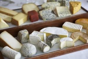 Chez Bruce cheese board