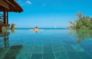 Pool at Presidential Villa, Constance Lemuria, Seychelles