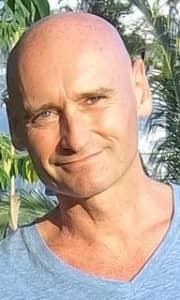 Steve Bracken, yoga teacher and bodyworker