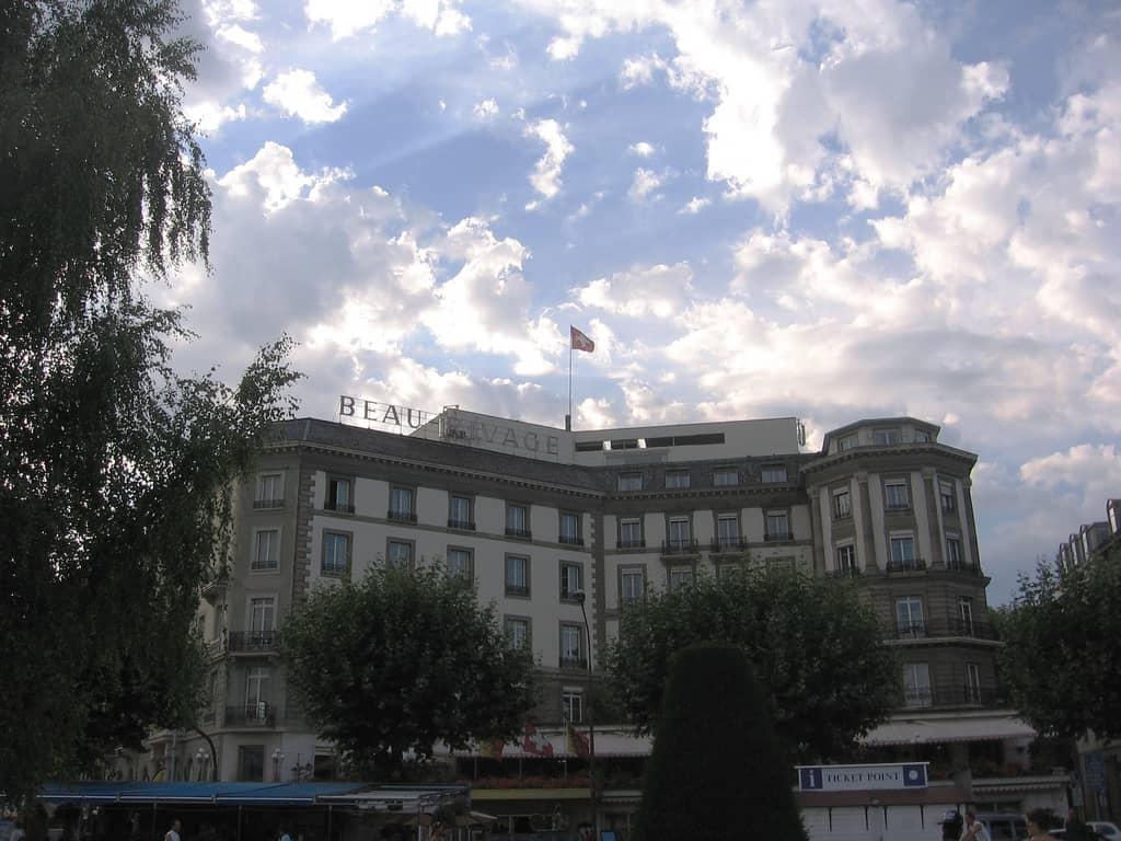 Beau Rivage, Geneva, Switzerland