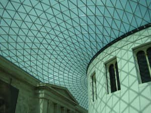 Inside British Museum, London