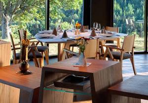 Dining room at Restaurant Serge Vieira