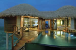 Luxury Water Villa at Constance Halaveli, Maldives