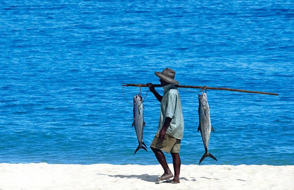 Fishing at Tsarabanjina