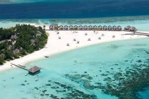 Constance Moofushi from the air