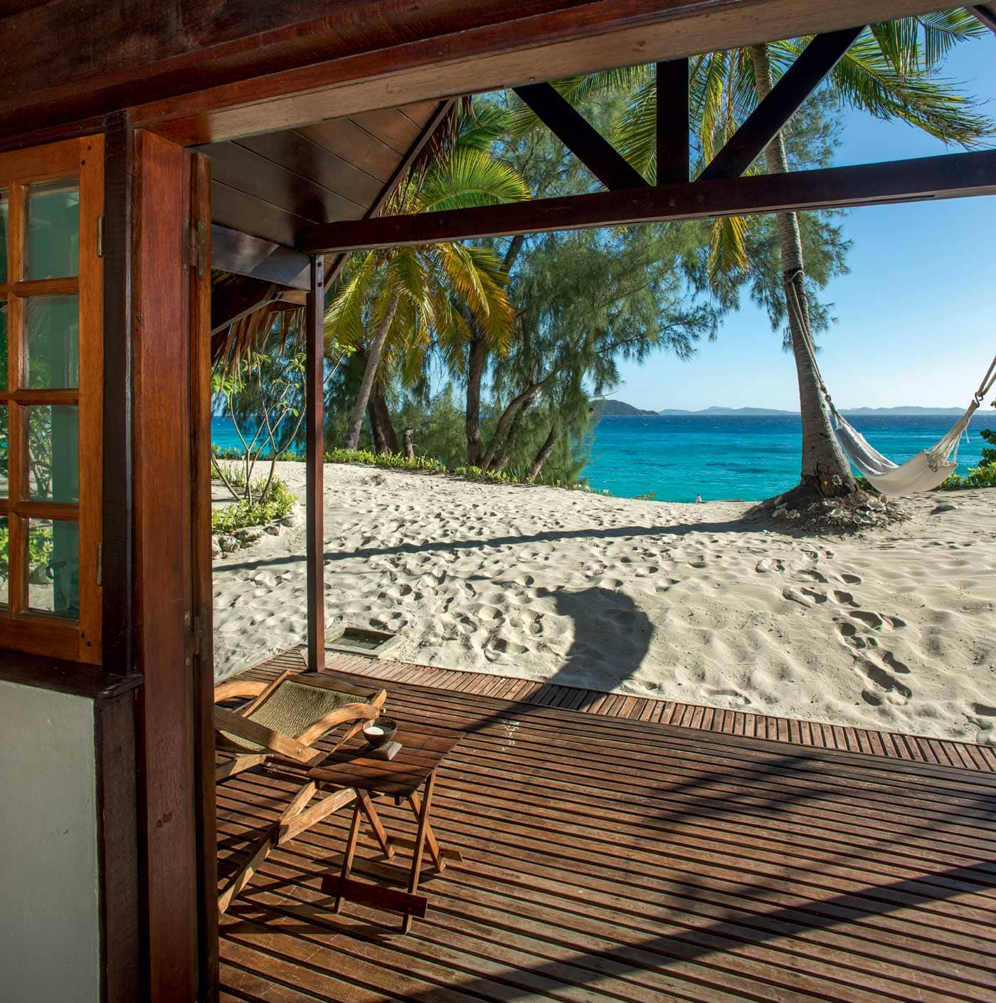 Beach villa at Constance Tsarabanjina, Madagascar