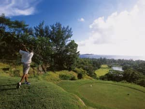 Luxury golf holidays at Constance Lemuria, Seychelles