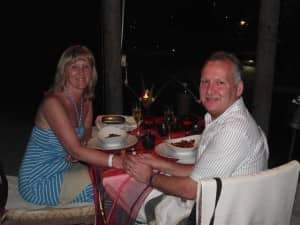 A 25th wedding anniversary at Constance Ephelia