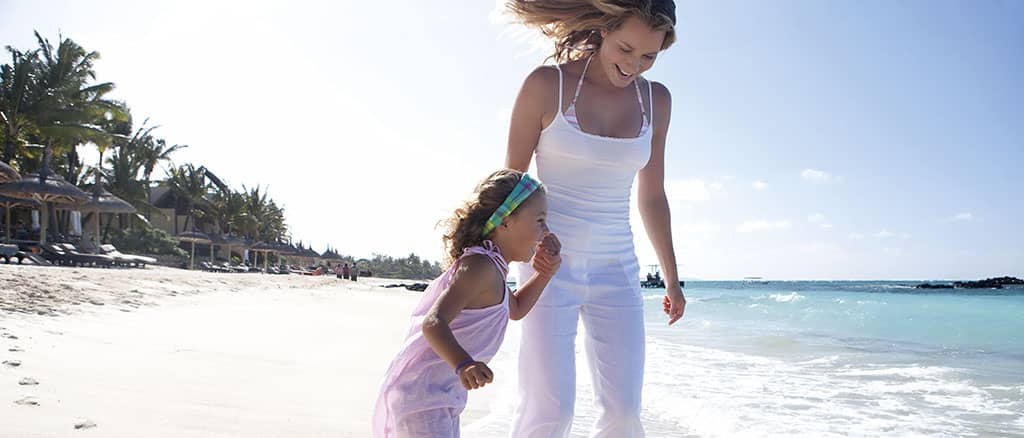 Family fun at Constance Belle Mare Plage