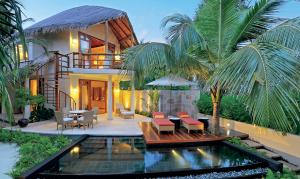 Double story villa at Constance Halaveli