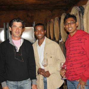 Wine tasting at Grange de Pere
