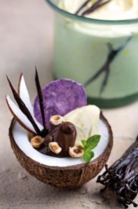 Ice cream with Madagascan Vanilla
