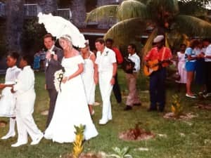 Wedding celebrations at Constance Ephelia (1988)