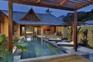Relax in your own spa villa at Constance Ephélia