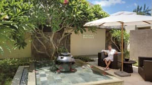 Relaxing at the Sisley Spa, Constance Le Prince Maurice