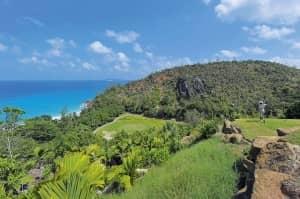 Golf at Constance Lémuria, Seychelles