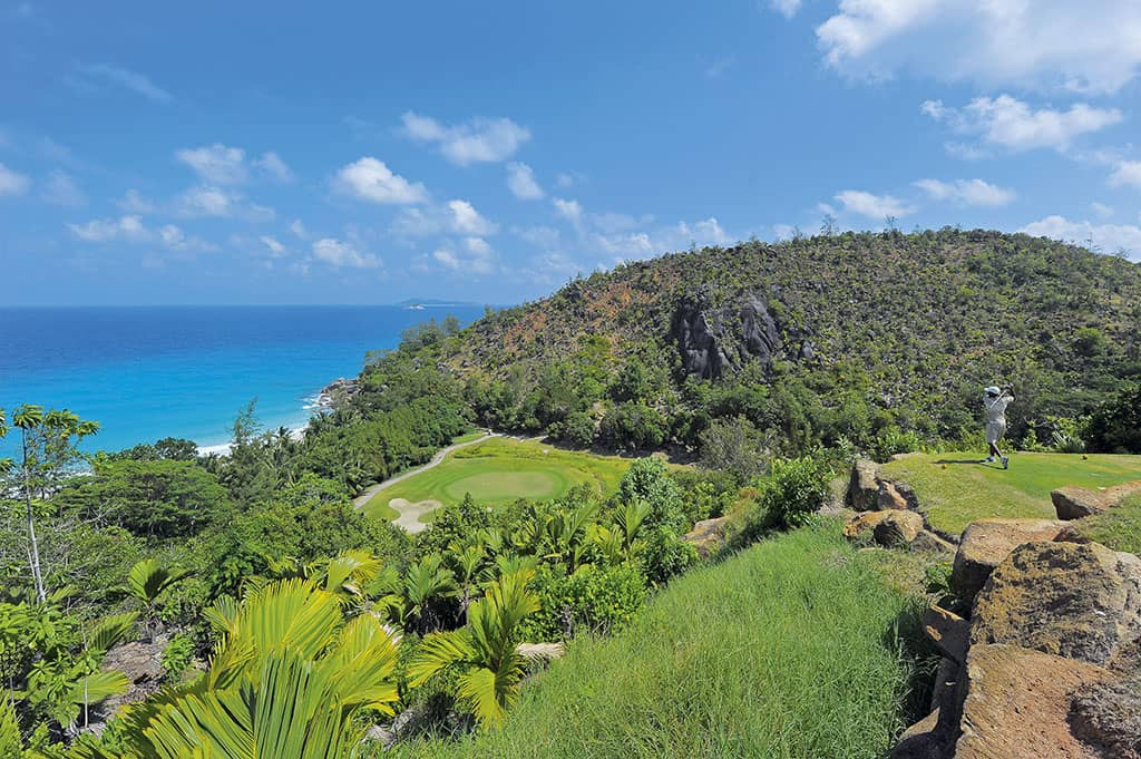 Golf at Constance L├®muria, Seychelles