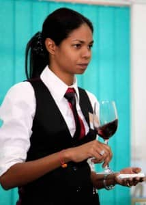 Cheryline Coulon, sommelier at Le Prince Maurice