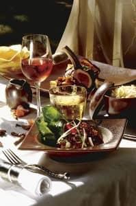 Fine dining at The Deer Hunter
