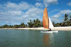 Sailing at Constance Belle Mare Plage