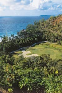 Lémuria's stunning 18 hole golf course