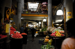 Food markets in Mauritius