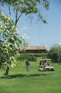 Links golf course