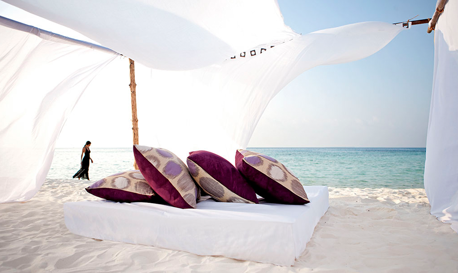 Relax on the beach at our luxury hotels and resorts
