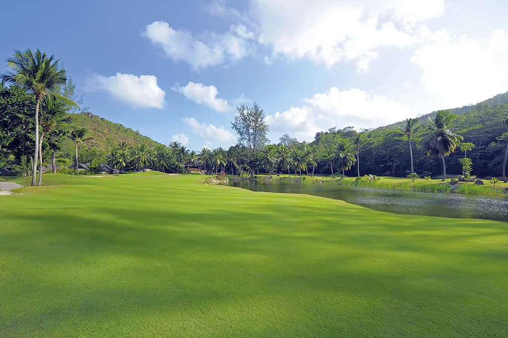 Golf at Constance L├®muria, Seychelles
