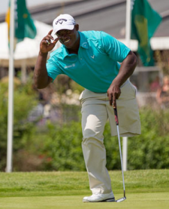 "Manuel de los Santos - ""On the golf course I have two legs"""