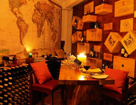 Wine Cellar, Constance Halaveli