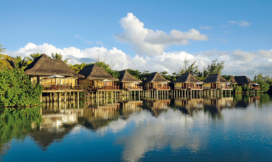 Suites on stilts at Constance Le Prince Maurice