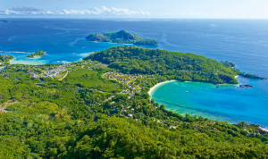 Panoramic views of the Seychelles