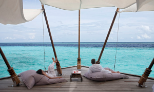 A luxury honeymoon in the Maldives