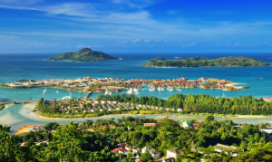 Victoria, the home of the Seychelles International Carnival