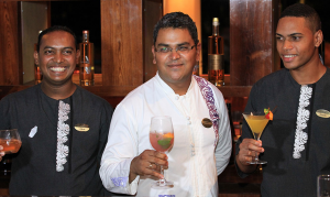 Mixologists: Ashvin, Jimmy & Alexandre