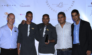 Cocktail competition winner: Ashvin Purrun from Constance Belle Mare Plage