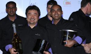 FCBL winners: Masashi Ijichi & Dammika Sarath of Constance Halaveli, Maldives