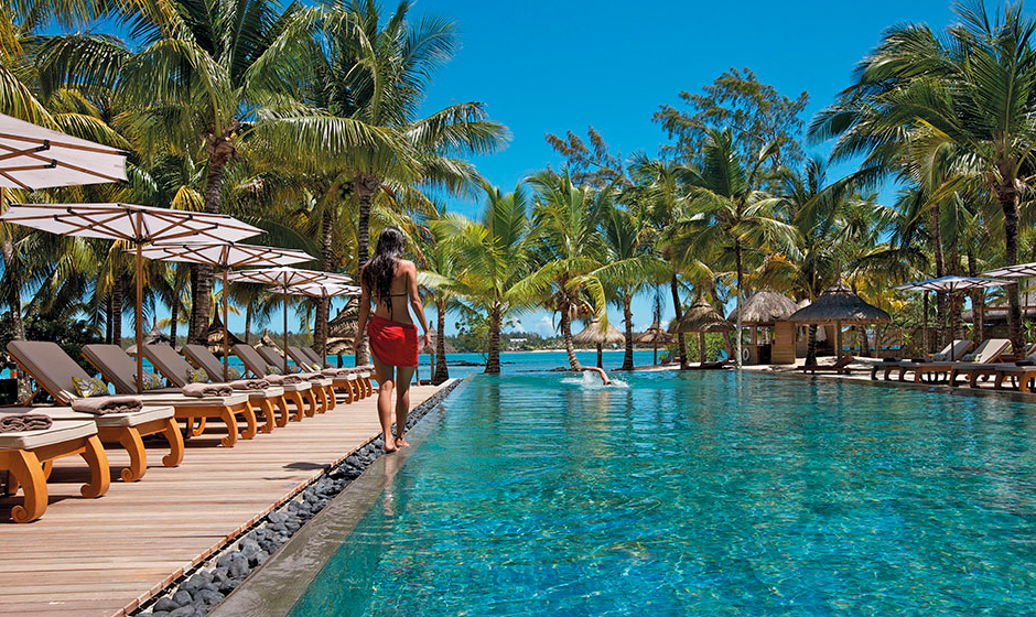 The main pool at Constance Le Prince Maurice