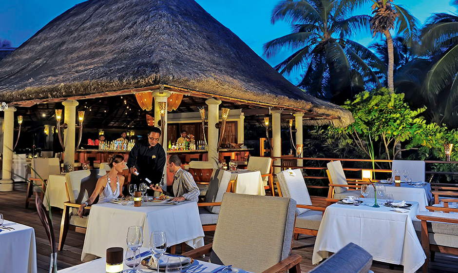 Seahorse restaurant, Constance L├®muria, Seychelles