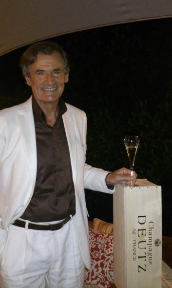 Fabrice Rosset of Champagne Deutz