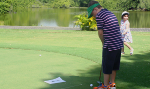 Kids' golf at Constance