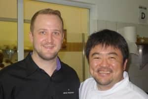 Event chefs: Jacob Holmstrom & Masashi Ijichi
