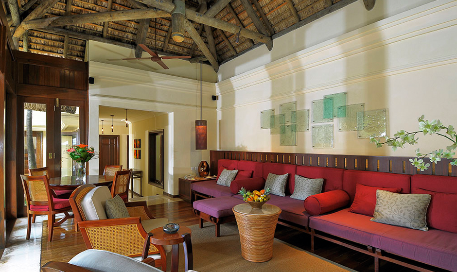 Step inside the villa at Constance Belle Mare Plage